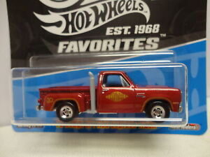 Hot Wheels '78 DODGE Li'l RED EXPRESS TRUCK Red 1978 w/RR HW 50th FAVORITES