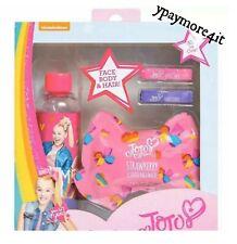JoJo Siwa Spa Set Face Mask Body Wash & Hair Chalk ~ Nickelodeon Christmas Gift