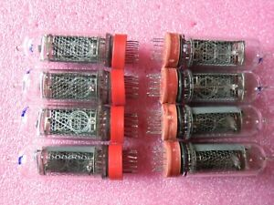 6 pcs IN-14 Russian nixie tubes. Used