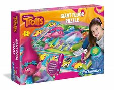 Trolls Toy Electronic Giant Floor Puzzle By Clementoni 24 Pieces NEW BOXED