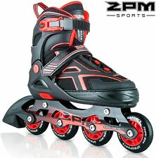2Pm Sports Torinx Red Adjustable Inline Skates for Youth Size 1-4