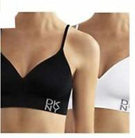 SALE DKNY Women's Energy Seamless Everyday Comfort Bralette - 2 Pack VARIETY C33