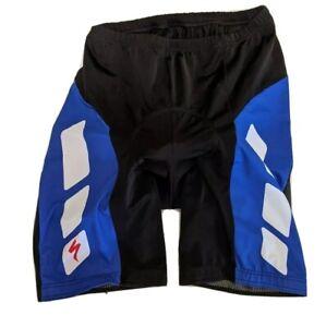 Specialized Cycling Sports Shorts Mens XXXL Black Blue Padded 50cm