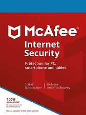 McAfee Internet Security 2021 | 1 Year | Windows/MacOS/Android/iOS
