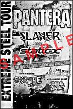 PANTERA BAND 12x18 CONCERT POSTER DIME PHIL VINNIE SLAYER EXTREME STEEL TOUR