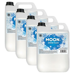 MoonFX Professional Snow Fluid 20L (4 x 5 Litres) - Pro Snow Fluid