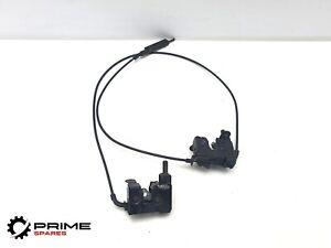 BMW 730D E65 BONNET LOCK CATCH RELEASE CABLE HANDLE 2008 8240599