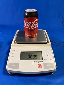 OHAUS Navigator N1B110 Laboratory Balance Scale with power supply 2100g
