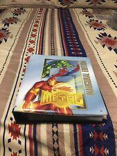 1995 Fleer Marvel Metal cards and binder base set, blasters, Prints, Promos, etc