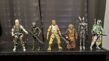 Star Wars Black Series Bounty Hunter Lot Dengar Boba Fett Zuckuss Bossk 4 Lom IG