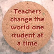 Teacher mold Plaster concrete Teacher's change world mould