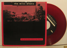 "The Miss Alans - Sad Last Days of Elvis A Presley RED Vinyl 7"" w/ PS RARE tribut"