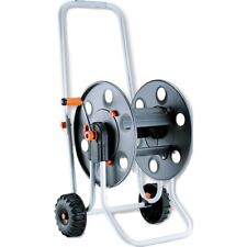 CLABER Lightweight Wheeled METAL Pantalon reel 100 m Window Cleaning/50 m Garden Pantalon