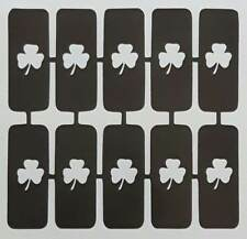 30 x shamrock nail stencils for airbrush  St Patrick's Day Irish Ireland gift