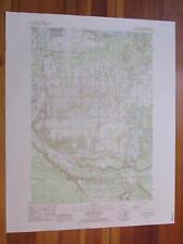 Mayfield Michigan 1984 Original Vintage USGS Topo Map