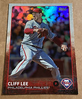 Cliff Lee 2015 Topps Series 1 Rainbow Parallel Philadephia Phillies #212