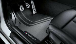 Original BMW 3er F30/F31 M3 Pièces M Performance Tapis Avant Nattes 51472407303