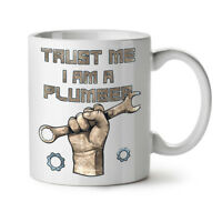 Trust Me Plumber NEW White Tea Coffee Mug 11 oz | Wellcoda