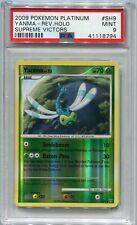 Pokemon Card Yanma LV. 22 Reverse Holo Supreme Victors Set SH9, PSA 9 Mint