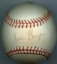 KEN BOYER +  2  Signed Baseball 1964 Cardinals  KOA Authenticated
