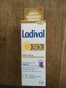 Ladival Anti Age & Anti Pigmentflecken LSF30 50ml, NEU!!!