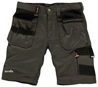 Scruffs Mens Trade Shorts - Slate, 30-Inch