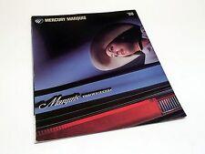 1986 Mercury Marquis Brochure