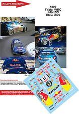 DÉCALS 1/18 réf 1027 Skoda Fabia  WRC PANIZZI Rallye Monte Carlo 2006