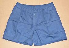 Australian Military Army Surplus Cotton Boxer Shorts Navy Blue XXL 110cm NOS