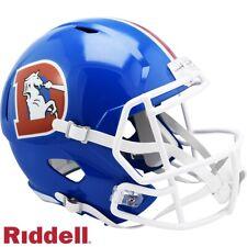 Denver Broncos 1975 to 1996 Throwback Speed Full Size Replica Football Helmet