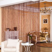 Hanging Bead Glitter Curtain String Door Window Curtains Tassel Fly Screen Panel