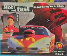 1997 Jim Yates McDonald's Pontiac Firebird Pro Stock NHRA postcard