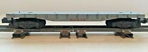 AMERICAN FLYER #956 MONON FLAT CAR-S GAUGE-EXCEPTIONALLY CLEAN-EXCELLENT COND.!