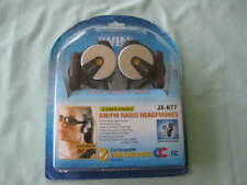 JWIN STEREO SPORTS AM/FM RADIO HEADPHONES JX-H77  -NEW