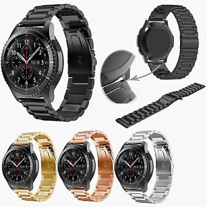 Stainless Steel Watch Band Strap for Samsung Galaxy Watch 46mm/ Watch 3 45mm