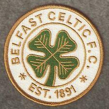 Belfast Irlanda Celtic FC Football Club Patch 2 (SEW/IRON ON)