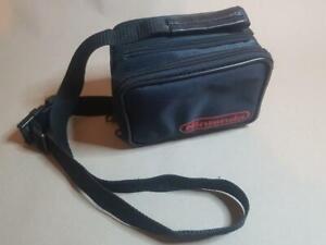 Official Nintendo Black GameBoy Original DMG-01 Carry Case Travel Bag side