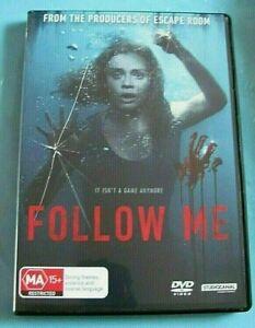 FOLLOW ME DVD Thriller/Horror Region 4