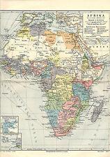 Konvolut 107 historische Landkarten u 61 Stadtpläne, lot historical maps 1893/97