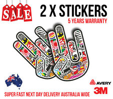 2 x SHOCKER BOMB JDM Sticker, Decal Car sticker for turbo, fast cars 160mmx110mm