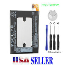 OEM Original Battery Replacement BN07100 2300mAh For HTC M7 One 801e 801n +Tools