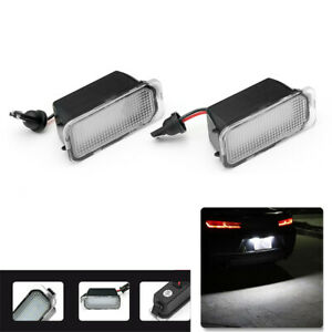 Led License Number Plate Lights Lamp For Ford Fiesta Mondeo S-Max Focus MK2