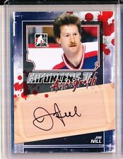 2013/14 ITG ENFORCERS SERIES II JIM NILL AUTOGRAPH