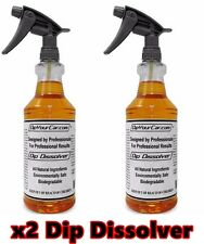 DYC Plasti Dip Dissolver Remove Unwanted Dip x2 32 oz Spray Bottle DipYourCar