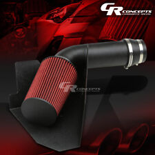 FOR 96-00 GMT400 C/K 5.0L/5.7L V8 BLACK ALUMINUM COLD AIR INTAKE & HEAT SHIELD