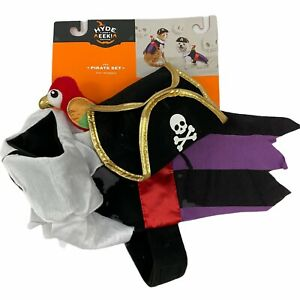 Pirate with Parrot Halloween Dog Cat Pet Costume Hyde & Eek! Boutique XS S M XL