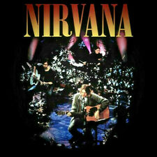 Men's NIRVANA KURT COBAIN T-Shirt LIVE Unplugged in New York NEW WITH TAGS