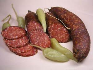 Chili Habanero Salami  super scharf  die Originale  1kg/1,1kg