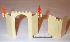 Lego Castle Corner Walls Tan 4842 Hogwarts