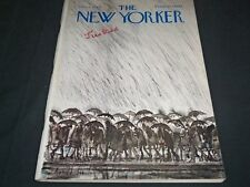 1969 NOVEMBER 8 NEW YORKER MAGAZINE - BEAUTIFUL FRONT COVER FOR FRAMING - C 121